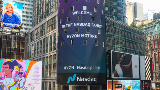 Hyzon-Motors-Nasdaq